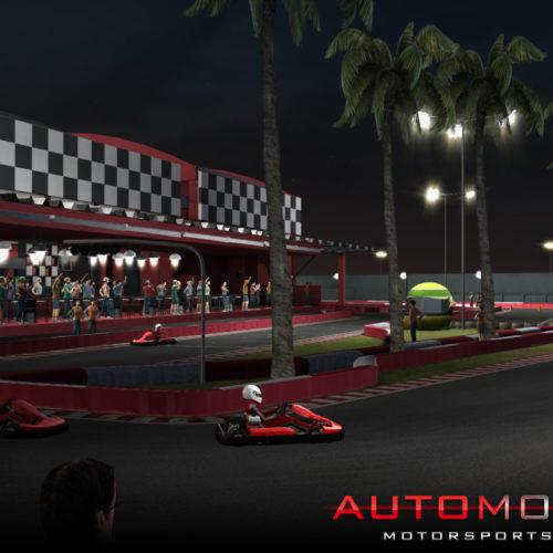 Versión 0.9.8 Automobilista: Karts Indoor