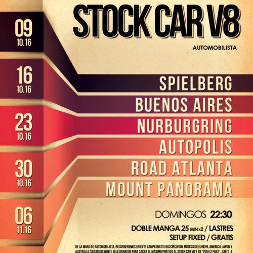 Campeonato Stock V8: Inscripciones abiertas