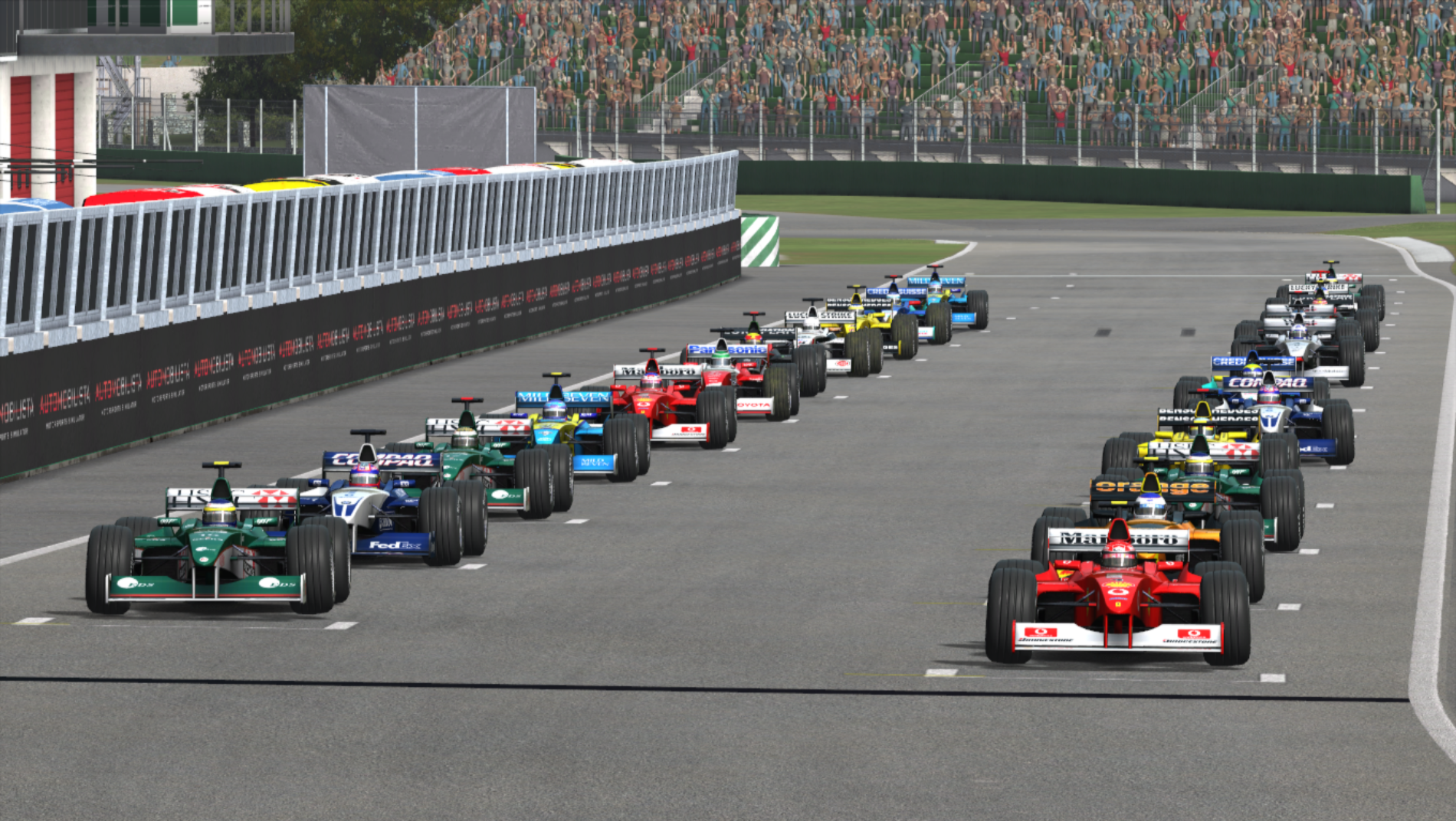 Resumen |Imola| doblete de Ferrari en esta prueba de inaguración del campeonato