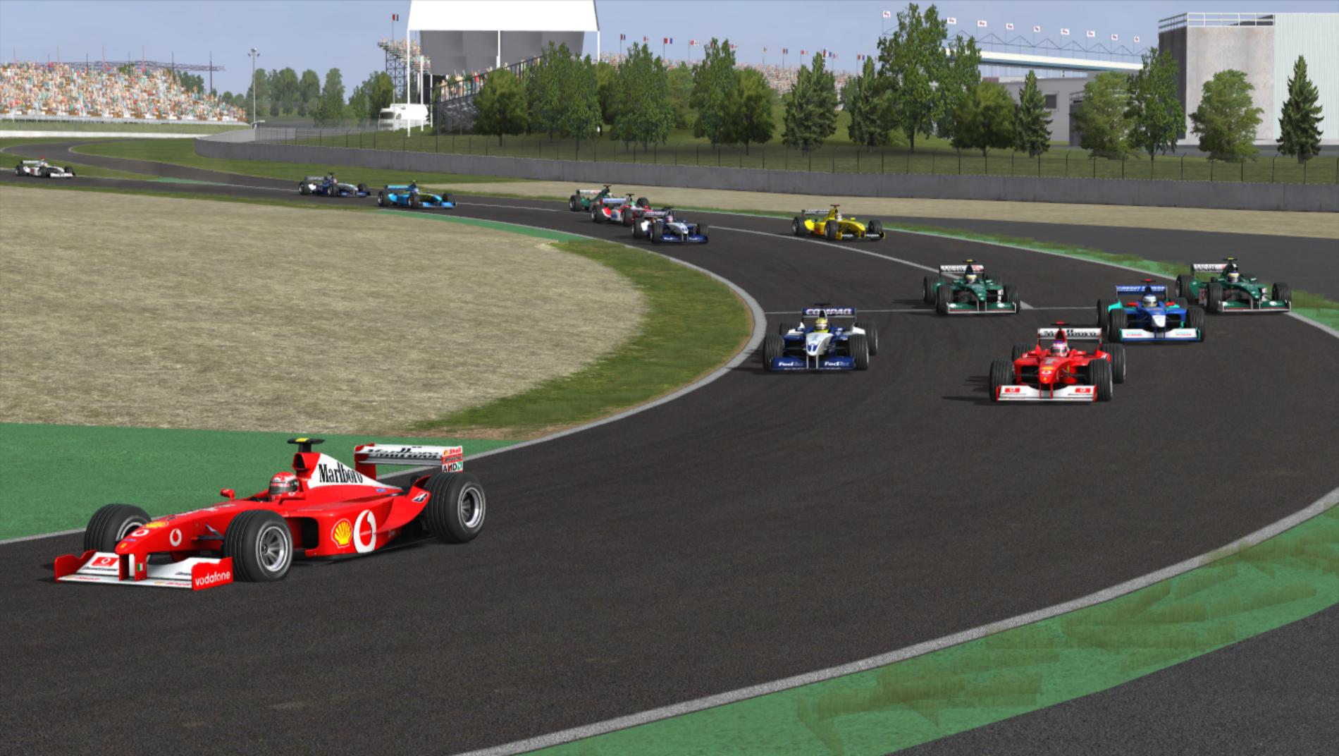 Resumen | magny-Cours| tercera victoria consecutiva para el piloto de Ferrari.