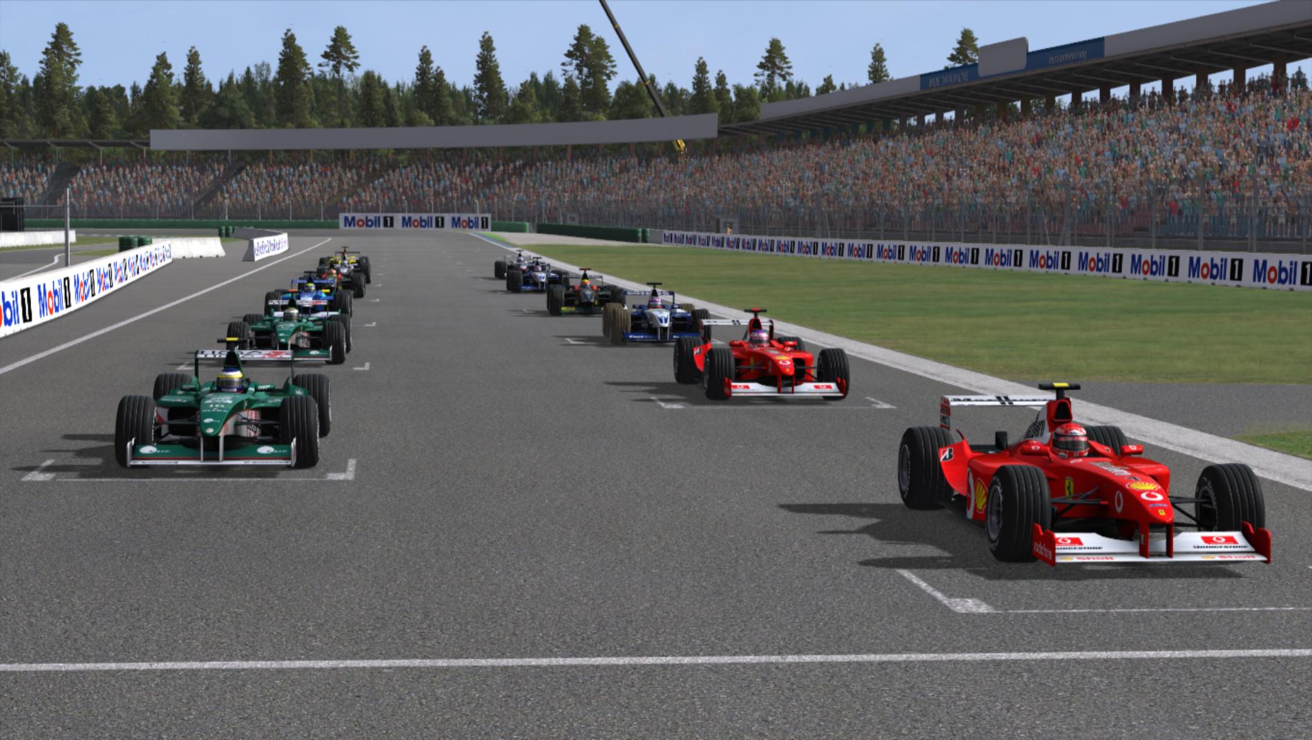 Resumen | hockenheimring| Kiboyuka acaba con el dominio de Ferrari.