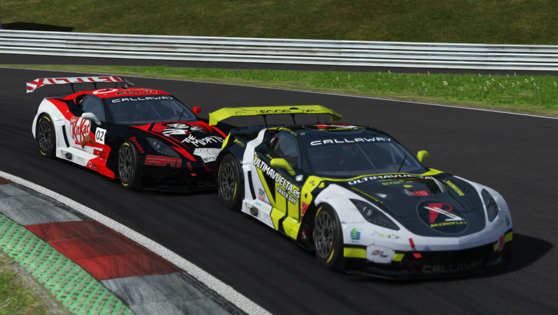 Resumen | Red Bull Ring  | Elkrack2 acaba con el dominio de Corvette.
