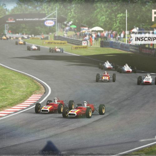 Pachanga |  RF2  |Formula retro 1968 en Outlon Park.