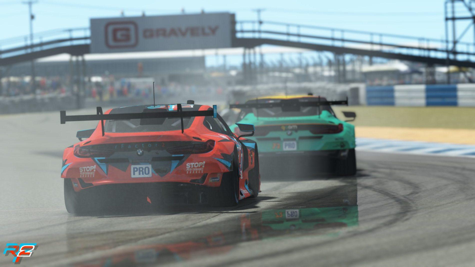 Calentando motores con un nuevo campeonato.